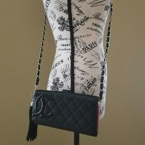 Chanel Cambon Woc Quilted Crossbody